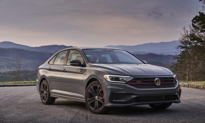 2020 Volkswagen Jetta GLI. (Courtesy of Volkswagen)
