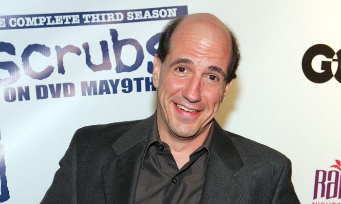 "Actor Sam Lloyd arrives at a third season DVD launch event and season five wrap party for the television series ""Scrubs"" at the Rain Nightclub inside the Palms Casino Resort in Las Vegas, Nevada, on April 27, 2006. (Ethan Miller/Getty Images)"