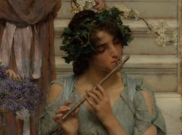 Detail of Flutist in Spring