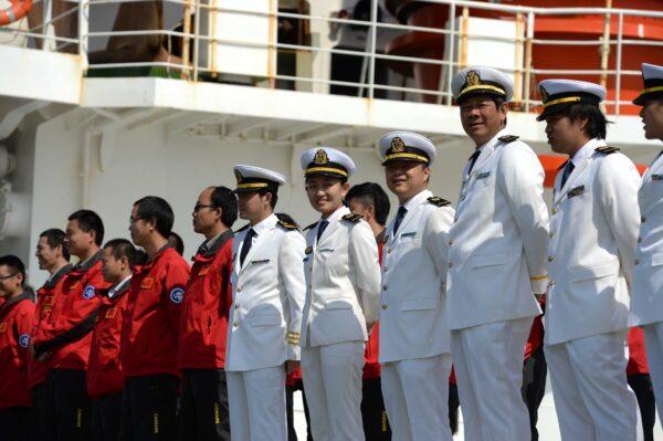 China's 31th Antarctic exploration team