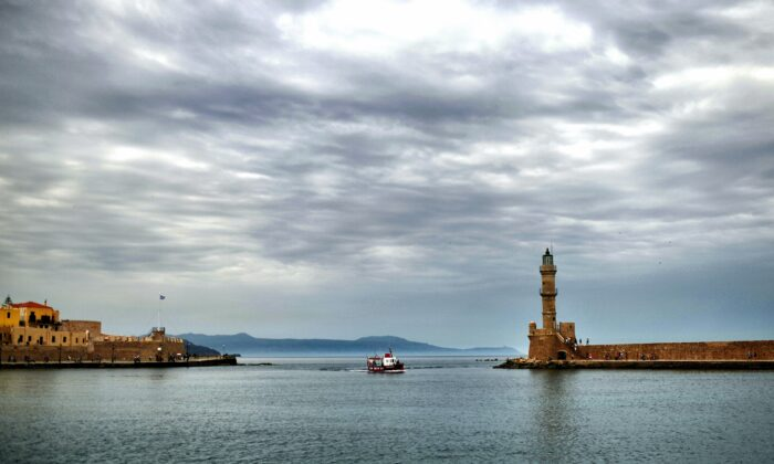 File photo of the old port of Chania, in the southern Greek island of Crete, on May 20, 2016. (Aris Messinis /AFP/Getty Images)