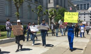 San Franciscans Protest California Lockdown