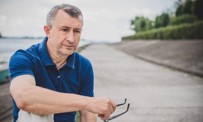 While many people believe a stereotype about a midlife crisis due to a fear of death and getting older, the study findings suggest midlife distress may be due to different reasons.(T.Den_Team/Shutterstock)