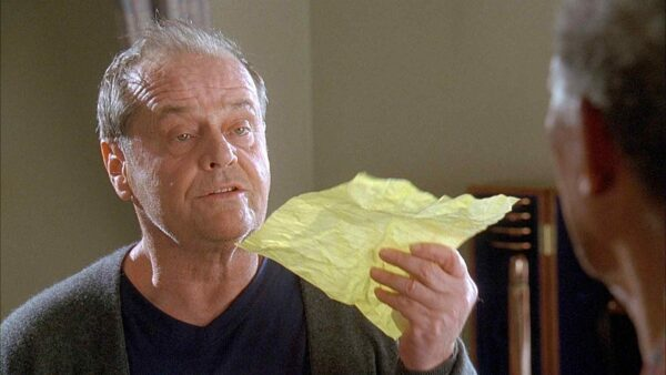 Jack Nicholson with a bucket list