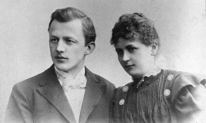 Melitta and Hugo Bentz. (Public Domain)