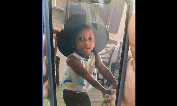 Lorie Thermidor, 2, was reported missing from her home Friday afternoon. (Tampa Police)
