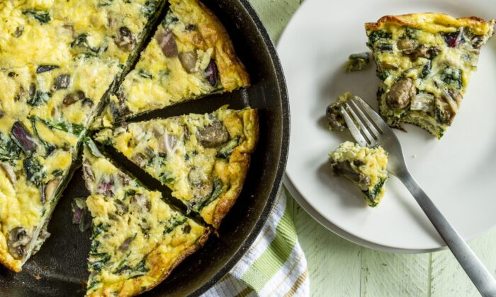 A frittata comes together in 20 minutes, start to finish, in one pan. (Teri Virbickis/Shutterstock)