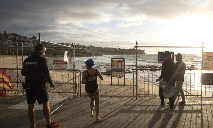 Bondi and Bronte beach, Sydney, Australia, April 28, 2020. (Ryan Pierse/Getty Images)