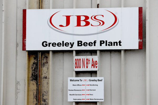 The Greeley JBS meat packing plant
