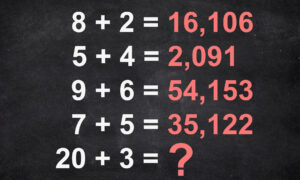Math IQ Test Stumps Netizens: If You Can Solve This Math Puzzle You Might Just Be a Genius