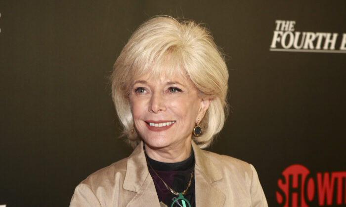 """Lesley Stahl attends a panel discussion about the Showtime documentary """"The Fourth Estate"""" at TheTimesCenter on  May 9, 2018, in New York. (Andy Kropa/Invision/AP)"""