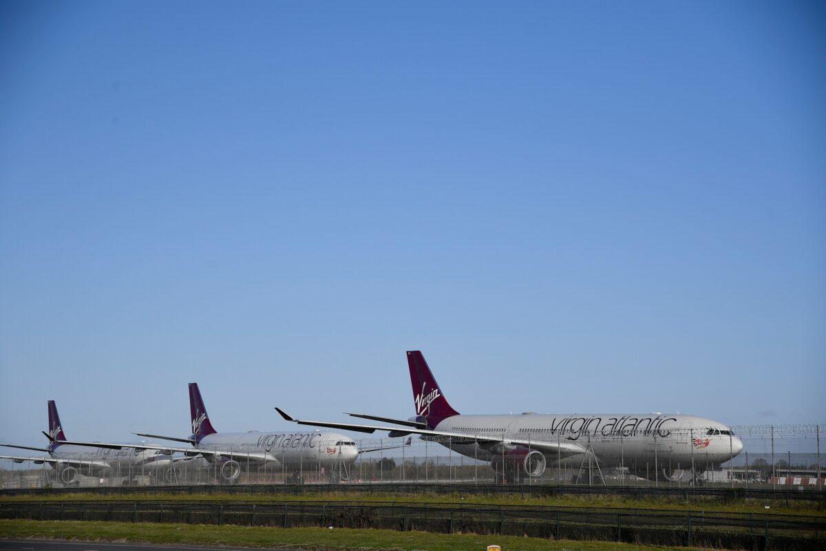 Virgin Atlantic Heathrow airport