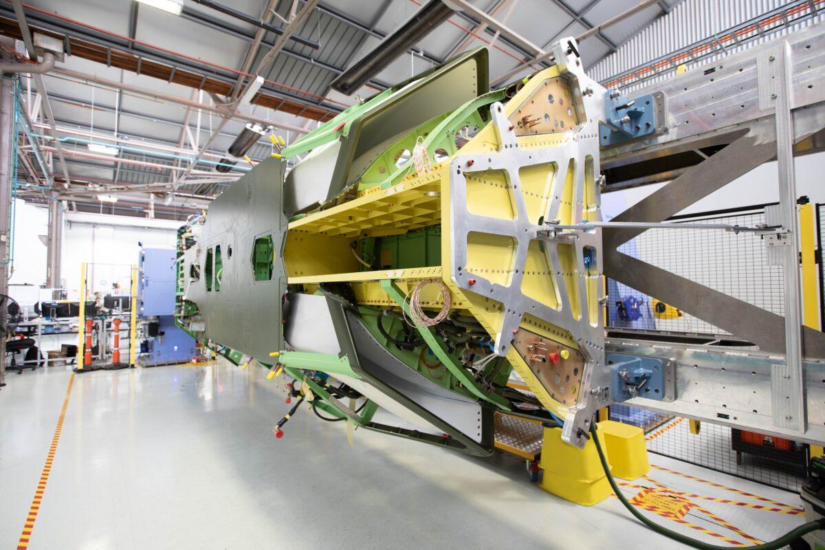 Boeing Australia loyal wingman main body fuselage