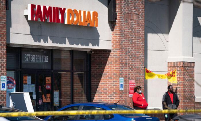 A stock photo of a Family Dollar (Sarahbeth Maney/The Flint Journal via AP)