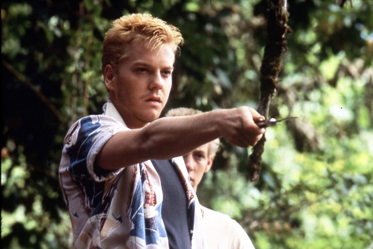 """teen with switchblade in """"Stand By Me"""""""