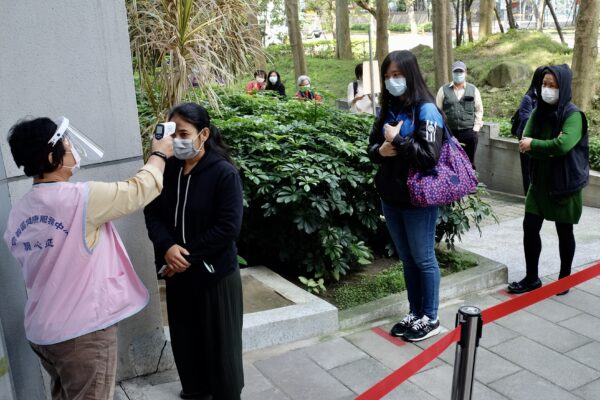 TAIWAN-HEALTH-VIRUS