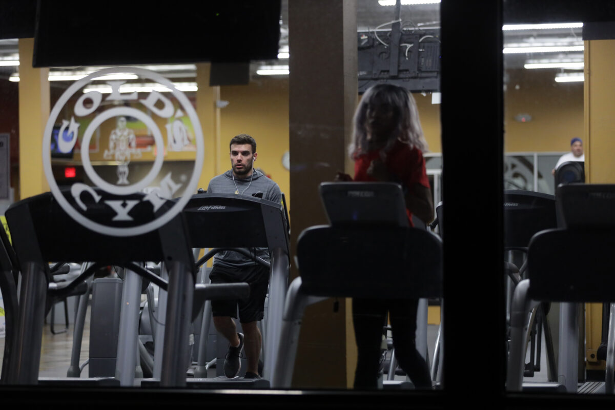 Gold's Gym files for bankruptcy due to coronavirus closures