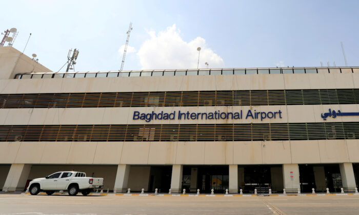 A view of  Baghdad international Airport, after Iraq has suspended flights at its domestic airports as the CCP virus spreads, in Baghdad, Iraq on March 17, 2020. (Thaier Al-Sudani/File Photo/Reuters)