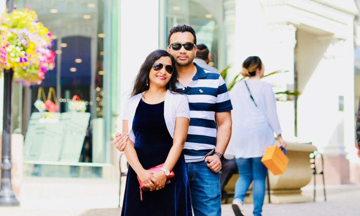 Sarita Jayantee Biswal and Love Singhal. (Courtesy of Love Singhal)