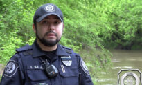 Police Officer Dives Into Freezing River to Save Two Drowning Teens Clinging to Branches, Hailed a Hero