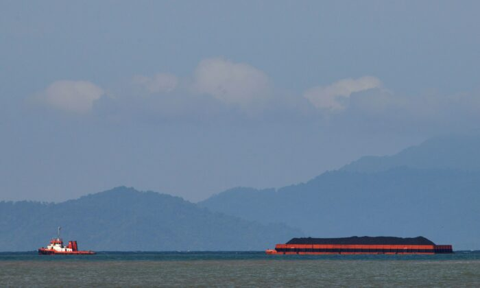 A tugboat near the coast of Banda Aceh, Indonesia in a file photo. (Chaideer Mahtuddin/AFP/Getty Images)