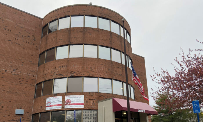 The exterior of Northbridge Health Care Center, one of the facilities designated by Connecticut to take in patients from the hospital who are recovering from coronavirus disease (COVID-19) but are still contagious and cannot return immediately to their nursing home or other long-term care facility of origin, in Bridgeport, Connecticut on April 23, 2020. (Nathan Layne/Reuters)