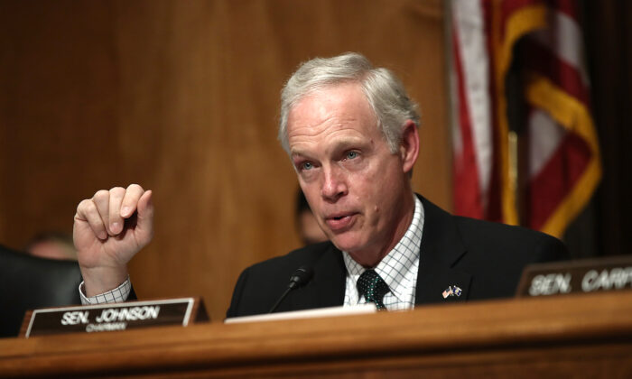 Sen. Ron Johnson (R-Wis.) in Washington on June 7, 2016. (Win McNamee/Getty Images)