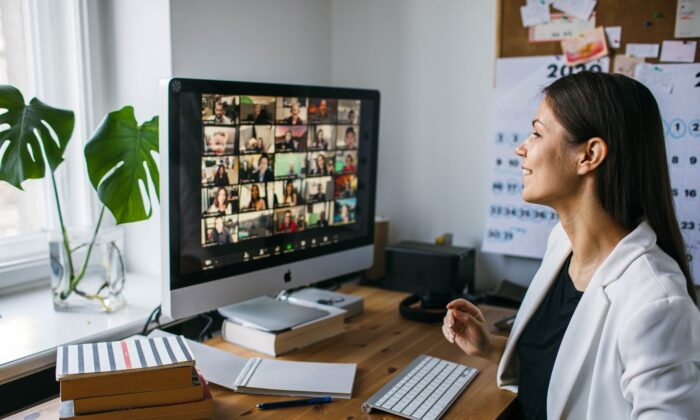 We have to work harder to process non-verbal cues when meeting through video teleconference. (Girts Ragelis/Shutterstock)