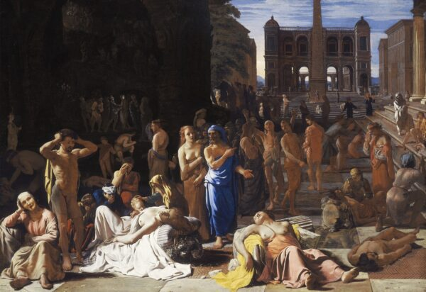 Plague in an Ancient City by Sweerts