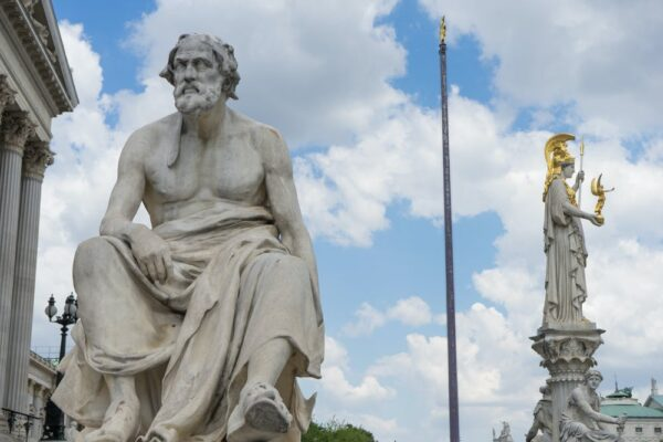 Statue of historian Thucydides