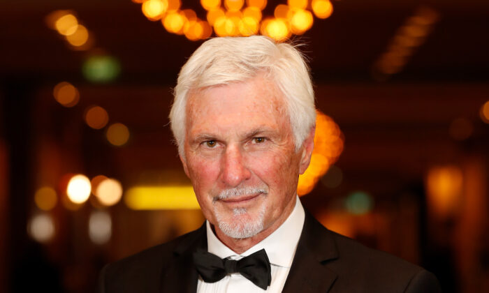 Mick Malthouse poses during the 2019 Australian Football Hall of Fame Dinner at Crown Palladium on June 4, 2019 in Melbourne, Australia. (Michael Willson/AFL Photos)