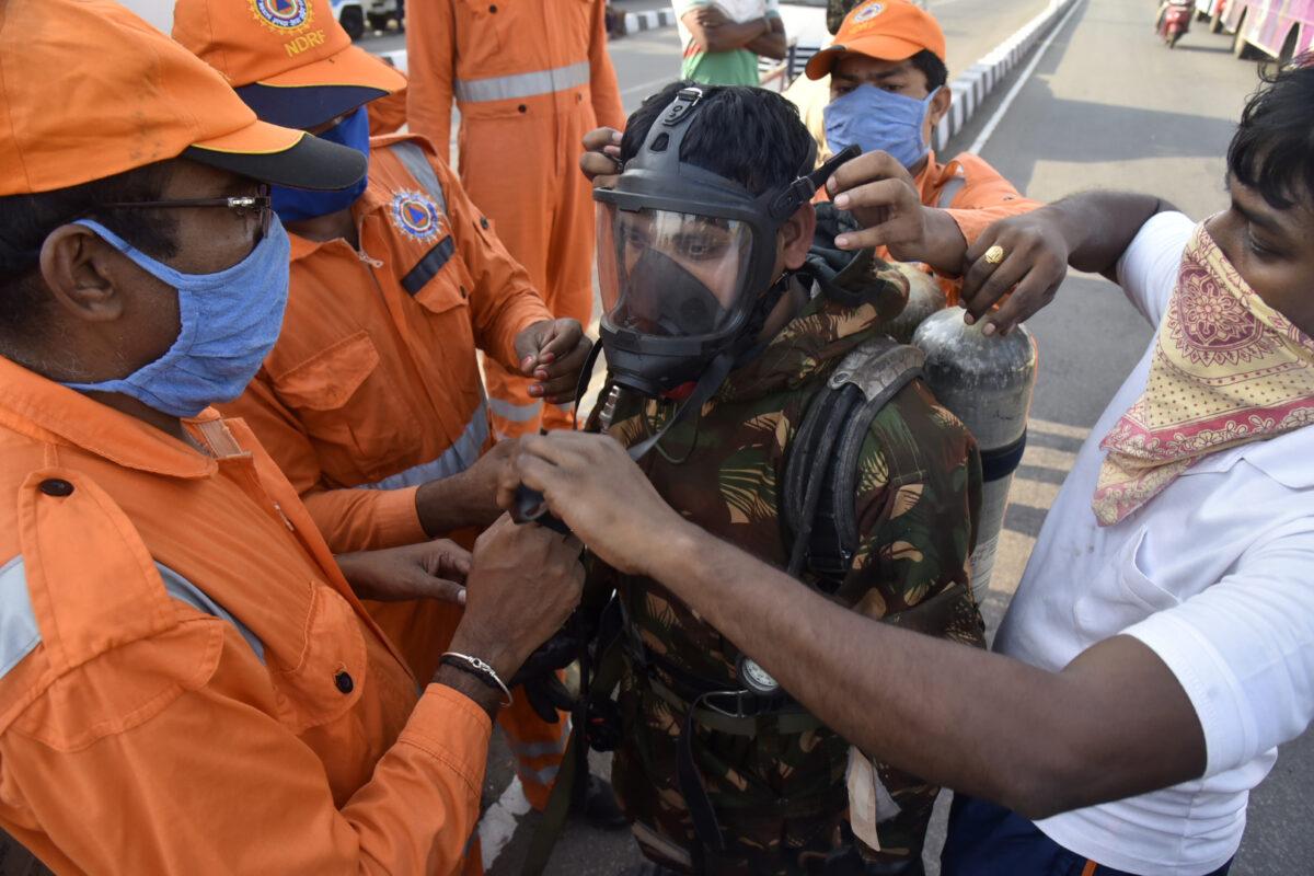 India-Gas-Leak-NDRF