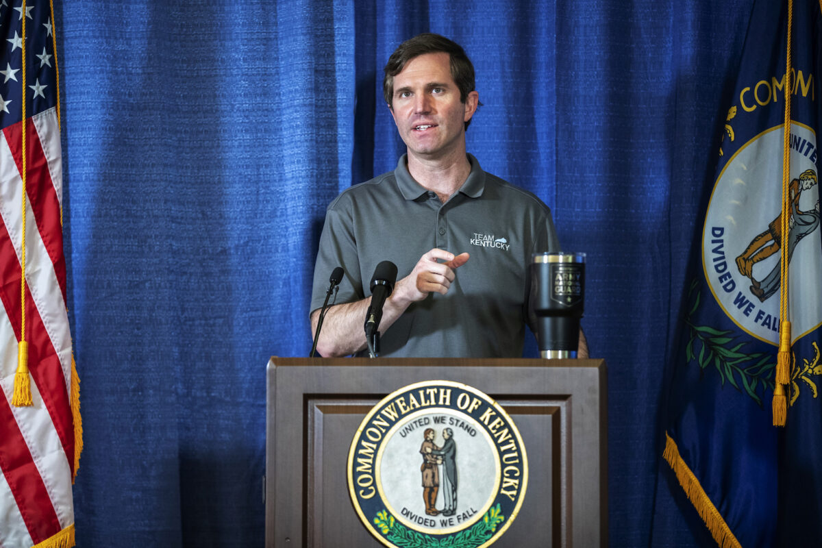 Kentucky Gov. Andy Beshear speaks during a news conference at the state's Emergency Operations Center at the Boone National<a href=https://www.theepochtimes.com/48-states-approved-for-trumps-unemployment-plan_3494884.html>Read More From Source</a></p><div id=