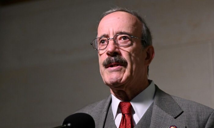 Rep. Eliot Engel (D-N.Y.) arrives to hear testimony from U.S. Ambassador to the European Union Gordon Sondlandin Washington, on Oct. 17, 2019. (Erin Scott/File Photo/Reuters)
