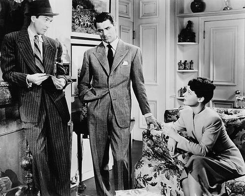 James Stewart, Cary Grant and Ruth Hussey