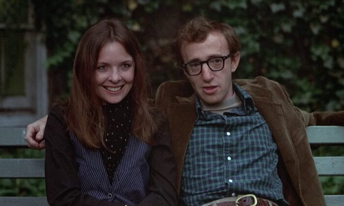"""Annie Hall (Dianne Keaton) and Alvy Singer (Woody Allen) in """"Annie Hall."""" (United Artists)"""