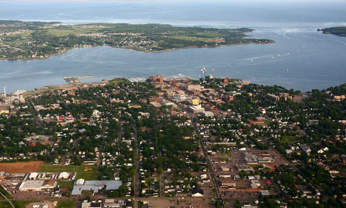 An aerial view of Charlottetown in a file photo. (Martin Cathrae/en.wikipedia.org/wiki/Creative_Commons)