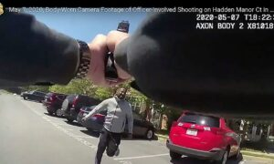 Police in Maryland Release Footage of Fatal Police Shooting