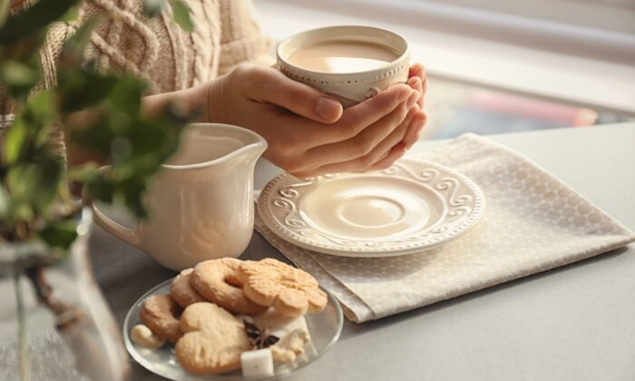 Few things are more comforting than a steaming cup of tea. (Pixel-Shot/Shutterstock)