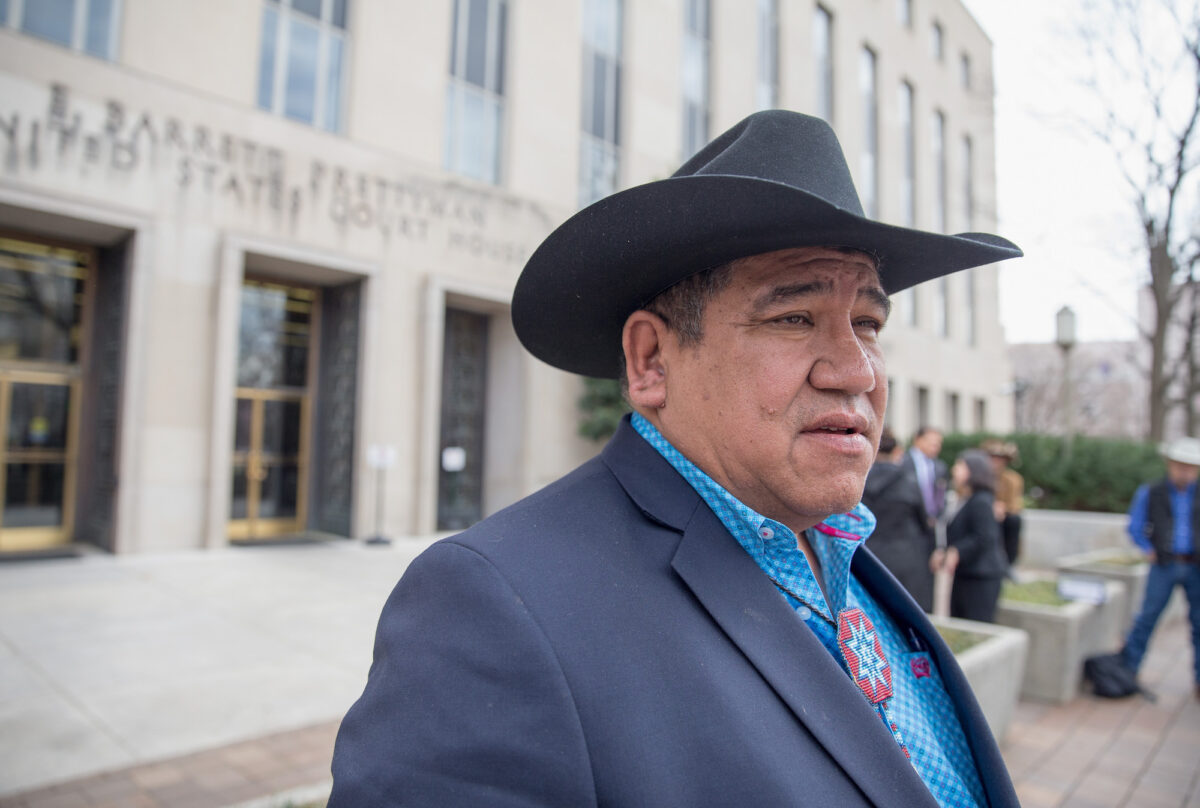 South Dakota Sioux Refuse to Dismantle `Illegal` COVID-19...