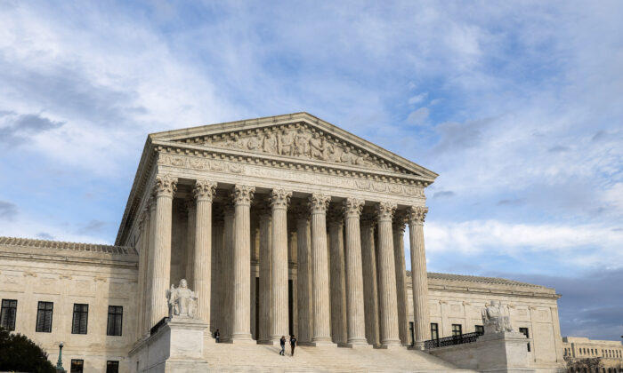 The Supreme Court in Washington on March 10, 2020. (Samira Bouaou/The Epoch Times)