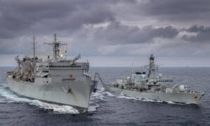 US Navy Ships Complete First Exercises in Barents Sea Since Cold War