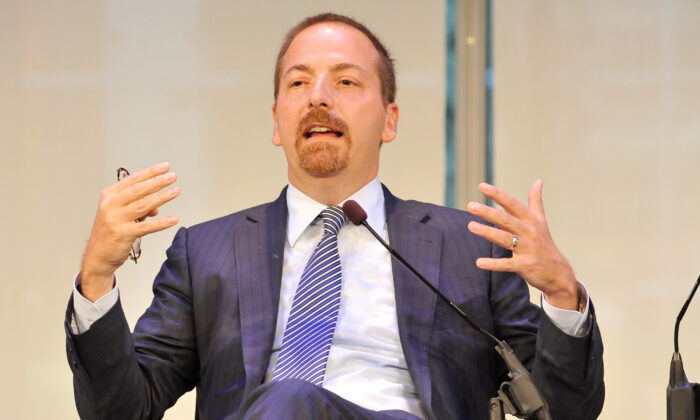 Chuck Todd speaks during an event in New York City in a 2015 file photograph. (D Dipasupil/Getty Images for AWXII)