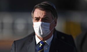 Brazil's Jair Bolsonaro Announces He Tested Positive for COVID-19