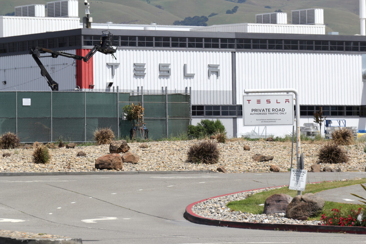 Tesla's California factory