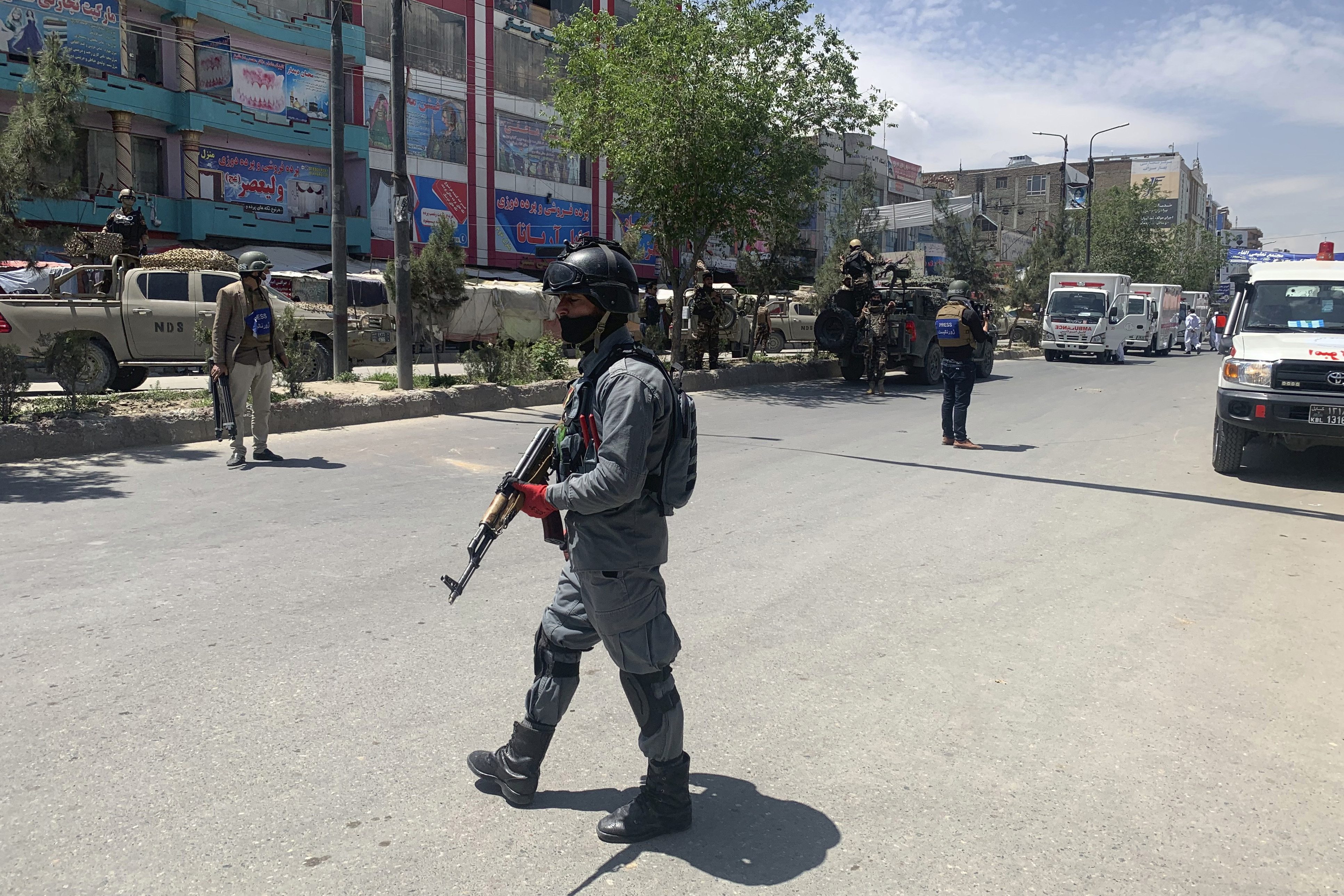 police officer Kabul Afghanistan