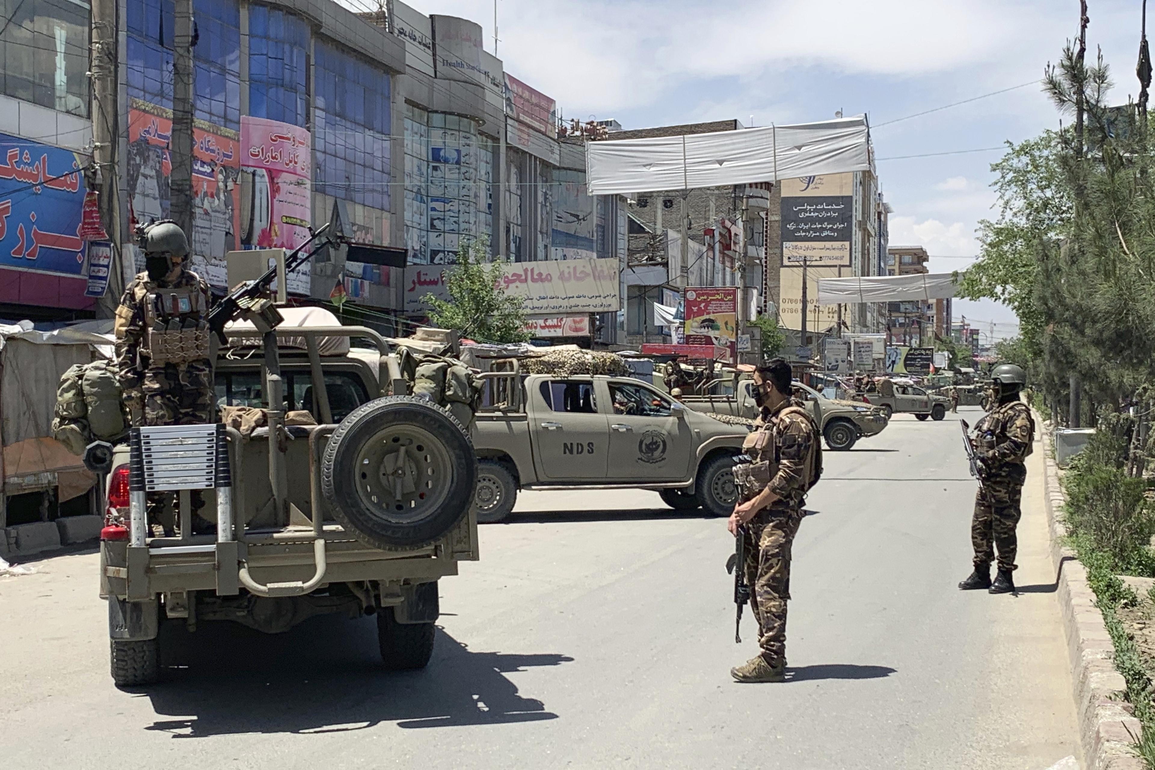 security personnelKabul Afghanistan
