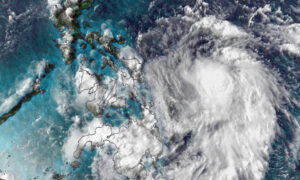 Typhoon Vongfong Is the First Named Storm of the Year in the West Pacific