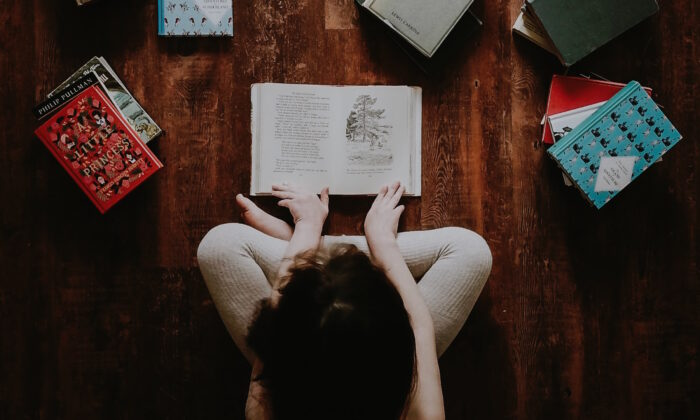 Have your children read the books they like, read some books you choose, or listen to audio books while they draw or build Lego creations or do chores. (Annie Spratt/Unsplash)