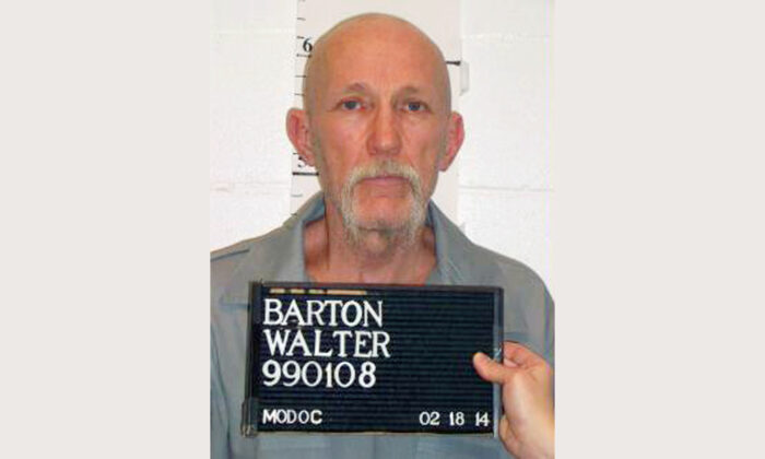 Walter Barton in a file photo. (Missouri Department of Corrections/AP)